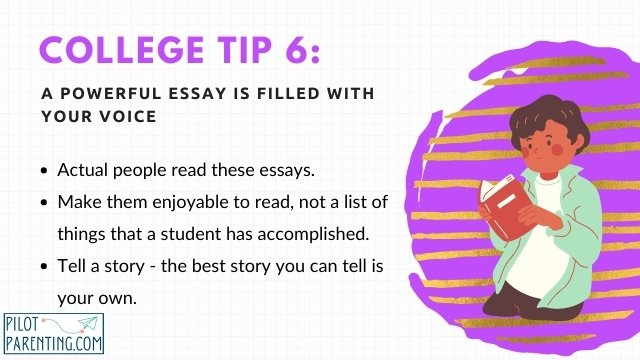 Tip 6 Use Your Own Voice in Essays