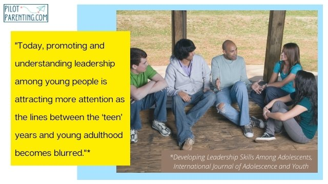 Quote on developing leadership skills in youth
